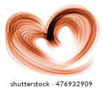 heart lovely romantic... | Shutterstock . vector #476932909