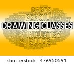 drawing classes representing... | Shutterstock . vector #476950591