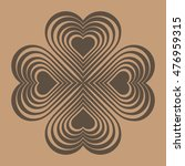 Brown Celtic Heart Knot  ...