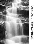 Waterfall Cold Fresh Water...