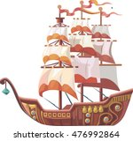 Tall Ship Or Sailing Ship ...