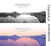 panoramic view of budapest ... | Shutterstock .eps vector #476993911