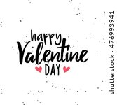 happy valentines day | Shutterstock .eps vector #476993941