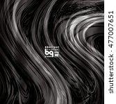 vector design  black and white... | Shutterstock .eps vector #477007651
