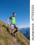 bergamo italy  september 2015... | Shutterstock . vector #477025201