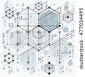 future technology vector... | Shutterstock .eps vector #477034495