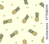 seamless patterns doodle... | Shutterstock .eps vector #477038245