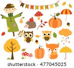 vector collection of autumn...