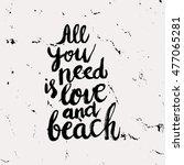 conceptual hand drawn phrase... | Shutterstock .eps vector #477065281