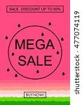 sale banner template design....   Shutterstock .eps vector #477074119
