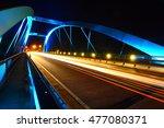 g  nzburg bridge at night