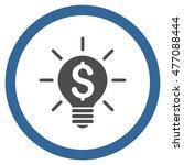 business idea bulb vector...   Shutterstock .eps vector #477088444