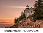 Bass Harbor Lighthouse In Main...