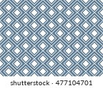 seamless light blue nordic... | Shutterstock .eps vector #477104701