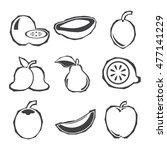 fruit | Shutterstock .eps vector #477141229