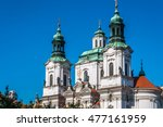 church of st. nicholas in old... | Shutterstock . vector #477161959