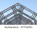 metal architecture structure... | Shutterstock . vector #47716351