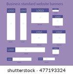 business standard website... | Shutterstock .eps vector #477193324