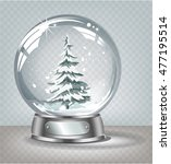 vector realistic transparent... | Shutterstock .eps vector #477195514