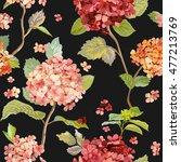 vintage flowers   floral...   Shutterstock .eps vector #477213769