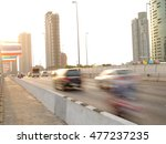 motion blur with thai street... | Shutterstock . vector #477237235