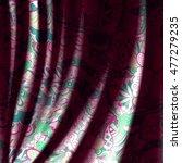 tracery horizontal seamless... | Shutterstock .eps vector #477279235