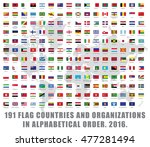 191all current world flag... | Shutterstock .eps vector #477281494