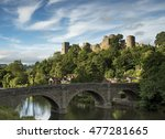 Ludlow Castle Bathed In The...