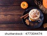 Pumpkin Smoothie  Spice Latte....