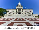 Small photo of The Rhode Island State House, the capitol of the U.S. state of Rhode Island.