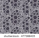 repeating organic pattern  foam ... | Shutterstock .eps vector #477388435