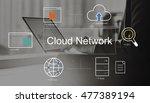 big data domain web page seo... | Shutterstock . vector #477389194