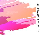 vector abstract artistic...   Shutterstock .eps vector #477389197