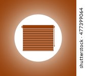 louvers rolls sign icon. window ...