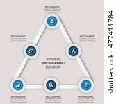 vector elements for infographic.... | Shutterstock .eps vector #477411784