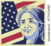 usa presidential election... | Shutterstock .eps vector #477413485