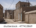 narrow street of itchan kala...   Shutterstock . vector #477413869