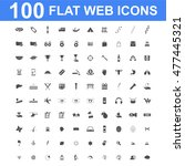 100 icon set. concept...   Shutterstock . vector #477445321