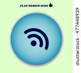 rss icon. web design