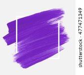 logo brush painted watercolor... | Shutterstock .eps vector #477471349