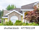 the top of the house or... | Shutterstock . vector #477501139