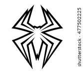 spider bug insect graphic | Shutterstock . vector #477502225