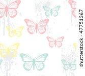 seamless grunge pastel... | Shutterstock . vector #47751367