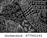 floral. decorative style. | Shutterstock .eps vector #477541141