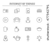 internet of things and smart... | Shutterstock .eps vector #477542791