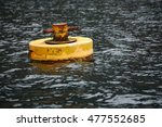 Mooring Buoy Off The Coast Of...