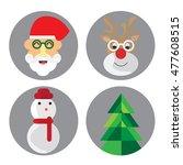 merry christmas | Shutterstock .eps vector #477608515