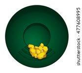 seeking for gold | Shutterstock .eps vector #477608995