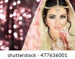 a pretty young female model... | Shutterstock . vector #477636001