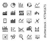 analysis icon | Shutterstock .eps vector #477641671